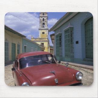 キューバのトリニダードの古い植民地村 マウスパッド