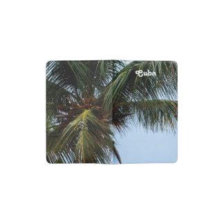 キューバのビーチ ポケットMoleskineノートブック