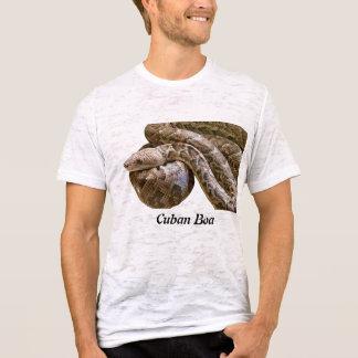 キューバのボアの焼損のTシャツ(合う) Tシャツ