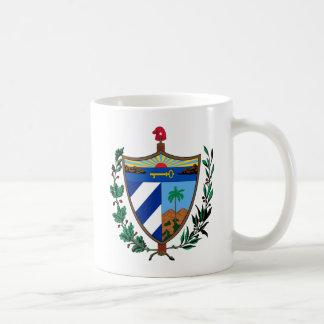 キューバのマグ紋章付き外衣 コーヒーマグカップ
