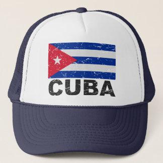 キューバのヴィンテージの旗 キャップ