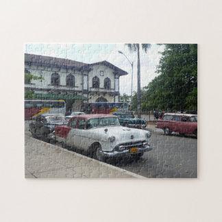 キューバの古いアメリカ車 ジグソーパズル