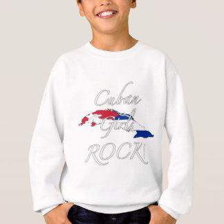 キューバの女の子の石! スウェットシャツ
