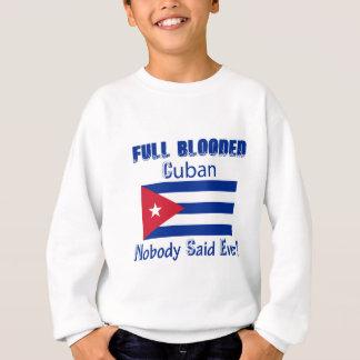 キューバの市民のデザイン スウェットシャツ