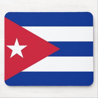 キューバの旗が付いているマウスパッド マウスパッド