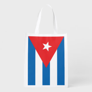 キューバの旗のエコバッグ エコバッグ