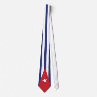 キューバの旗のタイ ネックウェアー