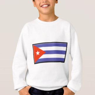 キューバの旗 スウェットシャツ