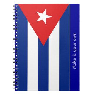 キューバの旗 ノートブック