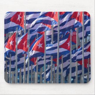 キューバの旗、ハバナ、キューバ マウスパッド
