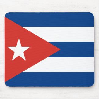 キューバの旗 マウスパッド
