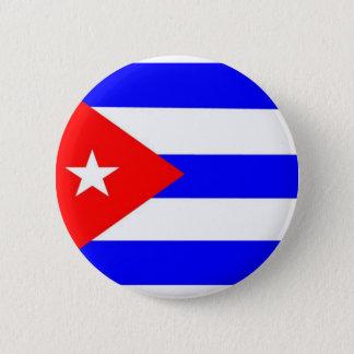 キューバの旗 5.7CM 丸型バッジ