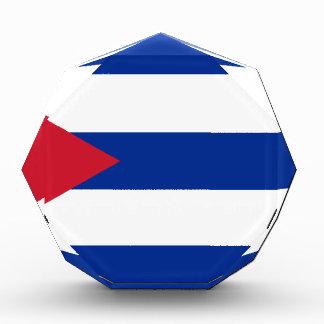 キューバの旗- Bandera Cubana -キューバの旗 表彰盾
