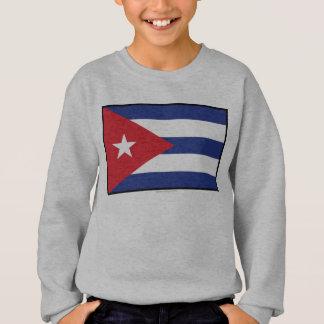 キューバの明白な旗 スウェットシャツ