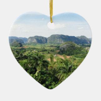 キューバの景色 セラミックオーナメント