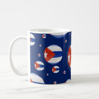 キューバの泡旗 コーヒーマグカップ