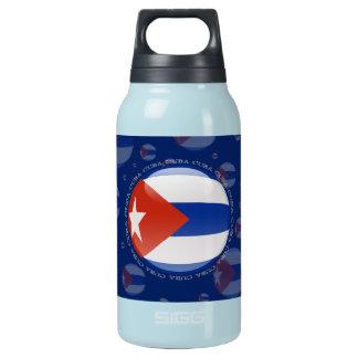 キューバの泡旗 断熱ウォーターボトル