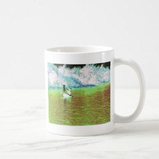 キューバの田園魚釣り コーヒーマグカップ