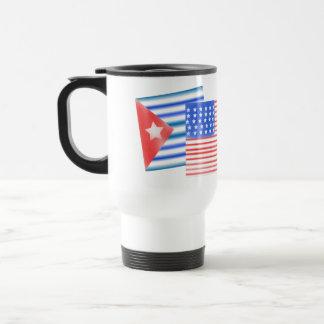 キューバの米国旗 トラベルマグ