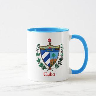 キューバの紋章付き外衣 マグカップ