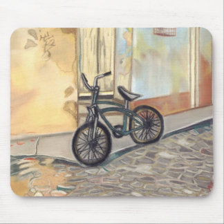 キューバの自転車 マウスパッド