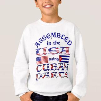 キューバの部品の前部 スウェットシャツ