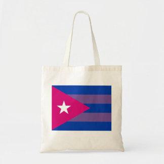 キューバのBiのプライド両性LGBTのバッグ トートバッグ