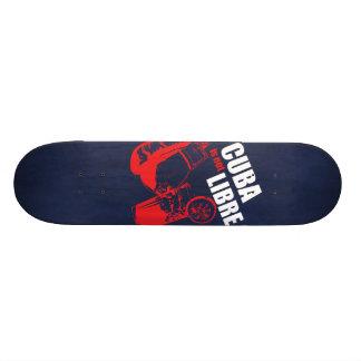 キューバはLibreではないです 20cm スケートボードデッキ