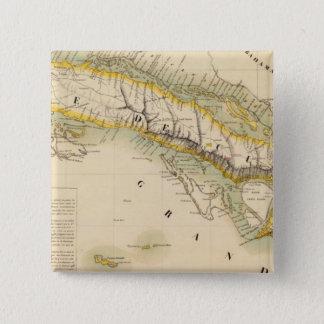 キューバジャマイカ67 5.1CM 正方形バッジ