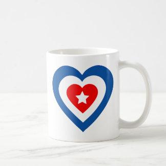 キューバハート コーヒーマグカップ