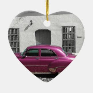 キューバ車4 セラミックオーナメント