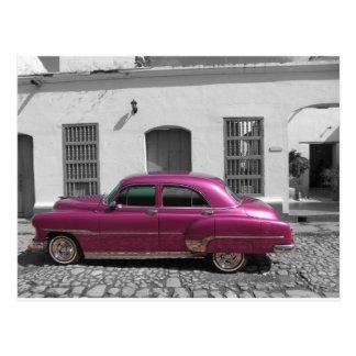 キューバ車4 ポストカード