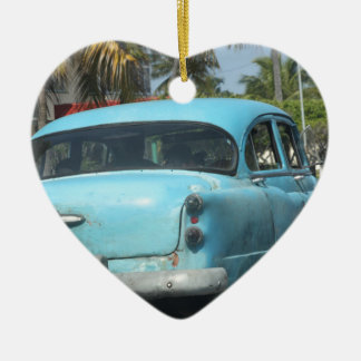 キューバ車 セラミックオーナメント