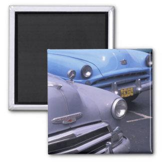 キューバ、ハバナ。 クラシックな50年代の自動車 マグネット