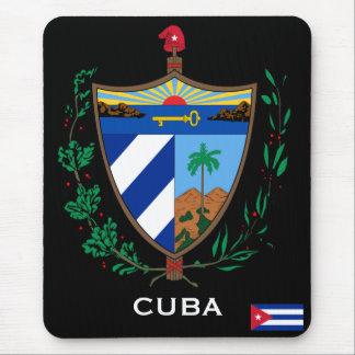 キューバ-マウスパッド紋章付き外衣 マウスパッド