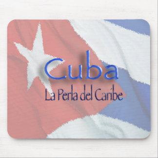 キューバ- La Perla del Caribe マウスパッド