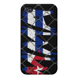 キューバMMAの黒 iPhone 4 ケース