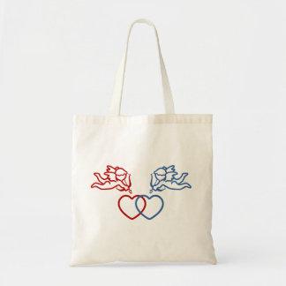 キューピッドはカスタムなバッグを二度打ちます-スタイルを選んで下さい トートバッグ