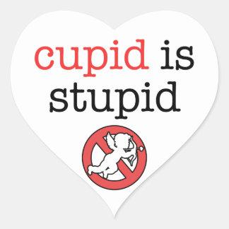 キューピッドは愚かなアンチバレンタインの日です ハートシール