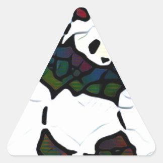 キラーパンダ 三角形シール