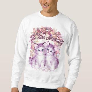 キラー子ネコのスエットシャツ スウェットシャツ