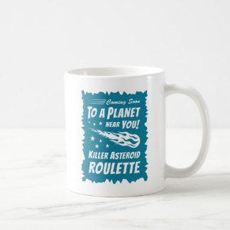 キラー星状のルーレット-ギークの天文学 コーヒーマグカップ