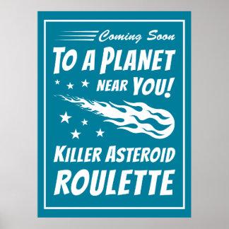 キラー星状のルーレット-ギークの天文学 ポスター