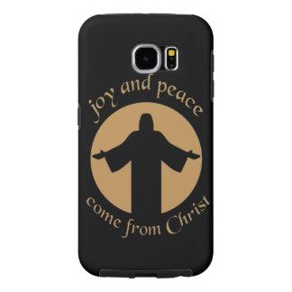 キリストから来られる喜びおよび平和 SAMSUNG GALAXY S6 ケース