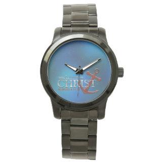 キリストで固定される 腕時計
