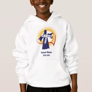 キリストのスエットシャツだけでカスタマイズ可能