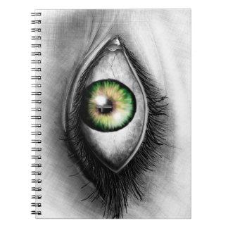 キリストのノートの目! ノートブック