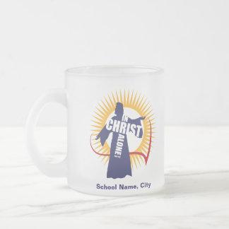 キリストのマグだけでカスタマイズ可能 フロストグラスマグカップ