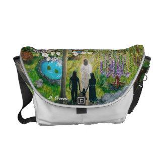 キリストのメッセンジャーバッグが付いている歩行 メッセンジャーバッグ