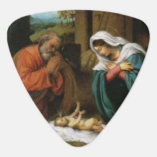 キリストの出生 ギターピック